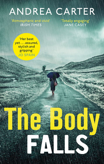 the body falls andrea carter book review cover