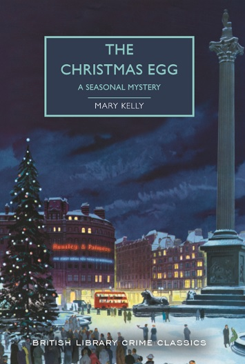 the christmas egg mary kelly book review cover