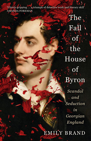 the fall of the house of byron emily brand book review cover