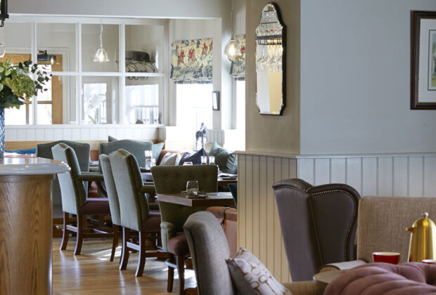 the farrier at cayton restaurant review interior