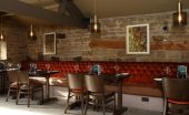 the fox menston leeds restaurant review interior