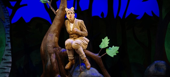 the gruffalo review west yorkshire playhouse mouse