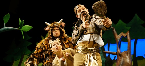 the gruffalo review west yorkshire playhouse snake