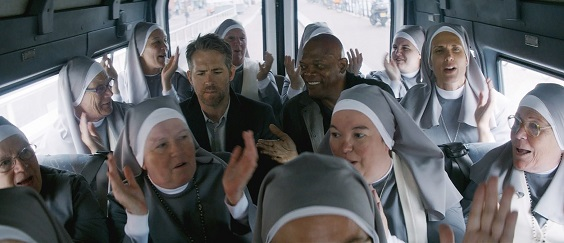 the hitman's bodyguard film review movie nuns