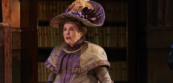 the importance of being earnest review york theatre royal april 2018 Gwen Taylor as Lady Bracknell