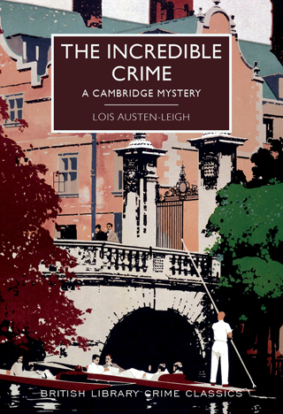 the incredible crime lois austen leigh book review cover