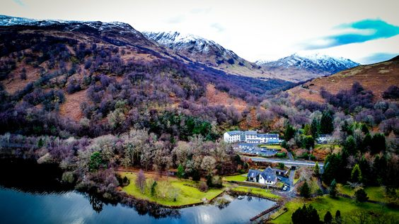 the inn on loch lomond inverbeg argyll bute review exterior view