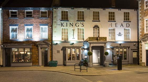 the king's head beverley restaurant review exterior