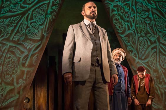 the kite runner sheffield lyceum review Baba (Emilio Doorgasingh), Ali(Ezra Khan) and Hassan (Andrei Costin)