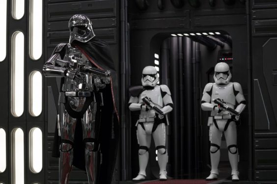 the last jedi film review star wars captain phasma