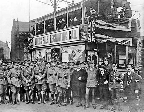 the leeds pals history introduction bus