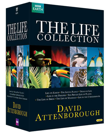 the life collection dvd review cover
