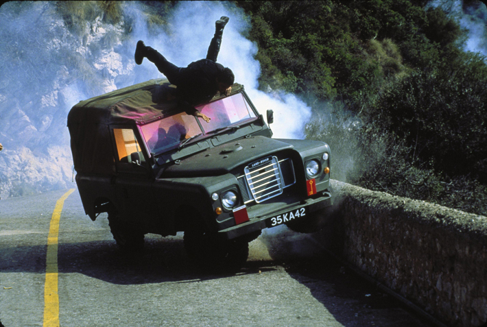 the living daylights film review land rover
