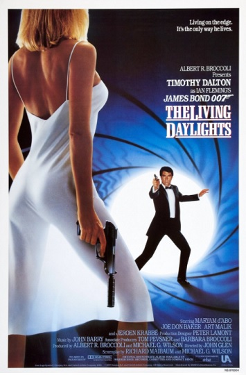 the living daylights film review poster