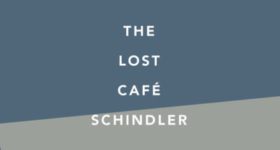 the lost cafe schindler meriel book review logo