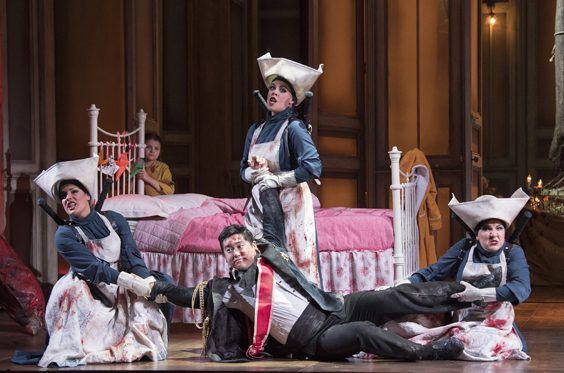 the magic flute review leeds grand theatre january 2019 opera north live