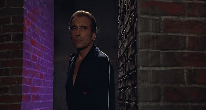 the man with the golden gun film review christopher lee