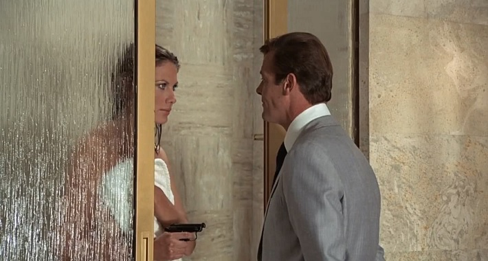 the man with the golden gun film review mroger moore