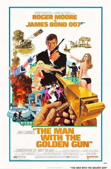 the man with the golden gun film review poster