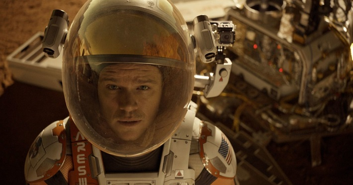 the martian film review damon