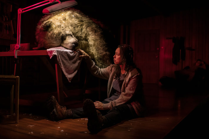 the monstrous heart review stephen joseph theatre october 2019 bear