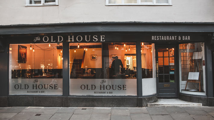 the old house york restaurant review exterior