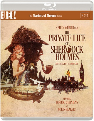 the private life of sherlock holmes film review dvd cover