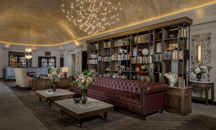 the queens hotel leeds review Lobby