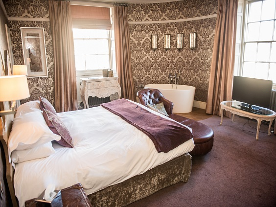 the royal kirkby lonsdale hotel review room and bath