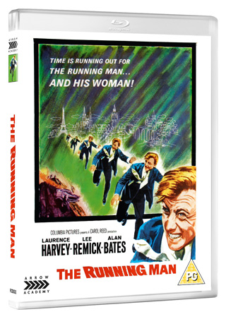the running man film review 1963 cover
