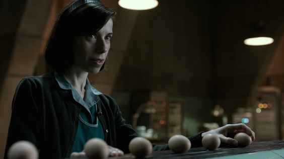 the shape of water film review eggs