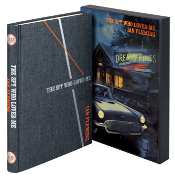 the spy who loved me ian fleming folio society book review cover