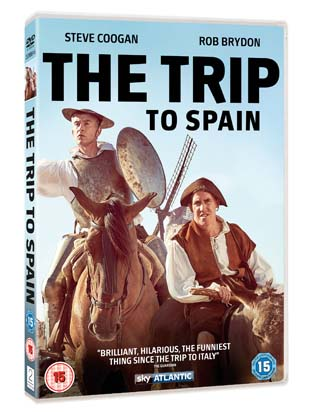 the trip to spain dvd review cover