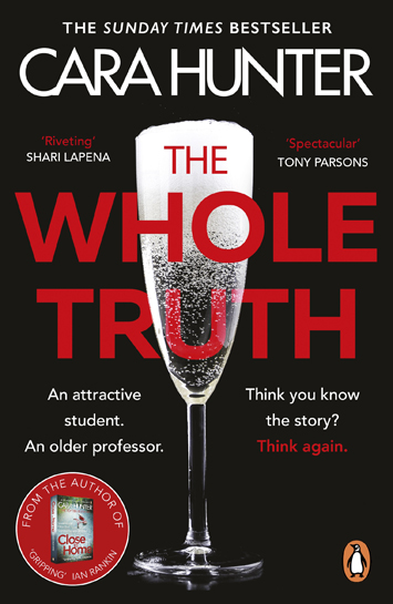 the whole truth cara hunter book review cover