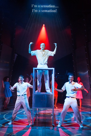 the whos tommy review west yorkshire playhouse Julian Capolei, William Grint and Matthew Jacobs-Morgan