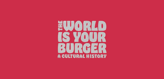 the world is your burger book review logo