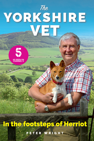the yorkshire vet in the footsteps of herriot peter wright book review logo cover