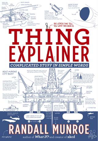 thing explainer Randall Munroe book review cover