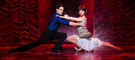 thoroughly modern millie review leeds grand Marios Nicolaides and Joanne Clifton Marios Nicolaides and Joanne Clifton