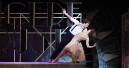 thoroughly modern millie review leeds grand Marios Nicolaides and Joanne Clifton Sam Barrett as Jimmy Smith and Joanne Clifton as Millie