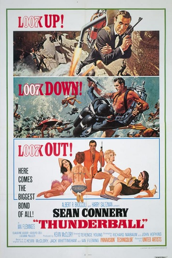 thunderball film review poster