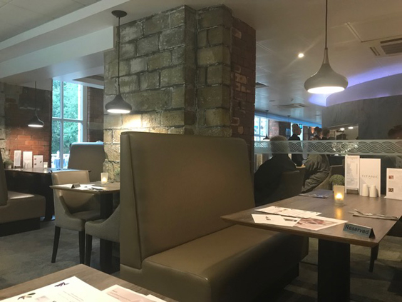 titanic spa review huddersfield restaurant