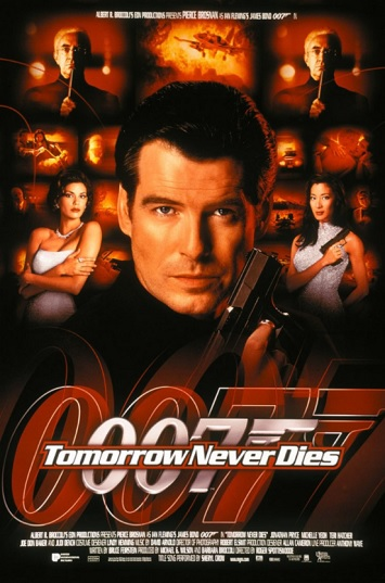 tomorrow never dies film review poster