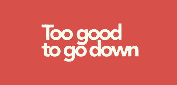 too good to go down wayne barton book review logo