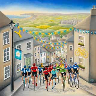 tour de yorkshire artist Pedals-Passion-and-Glory