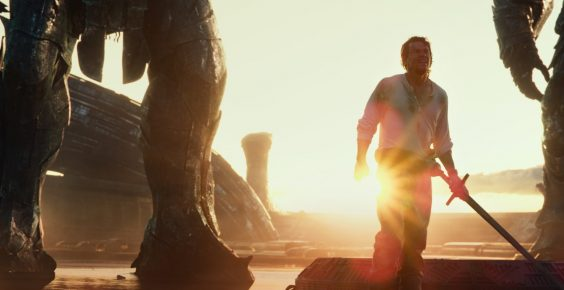 transformers last knight film review sunset
