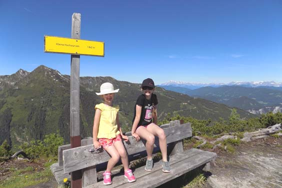 travel review Schladming austria Evelyn and Isla at Hochwurzen