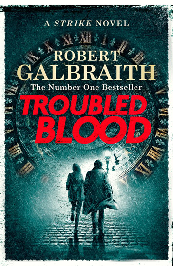 troubled blood robert galbraith book review cover