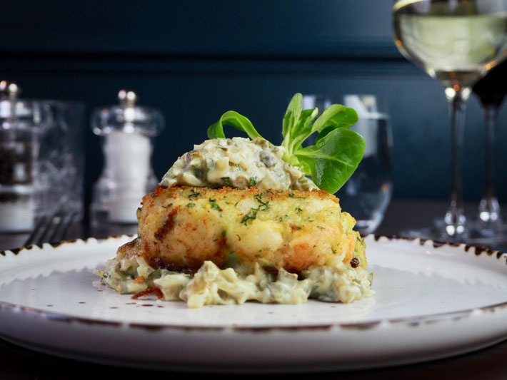 twine and barrel york restaurant review fish cake