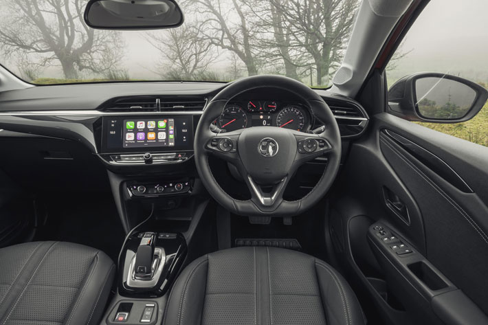 vauxhall corsa 2020 car review interior